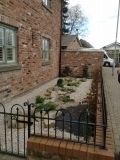 <h5>Sandstone rockery &amp; Peach Pebble Garden</h5><p>A beautiful low maintence garden created by a customer in Chester.</p>