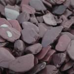 Plum slate paddlestones