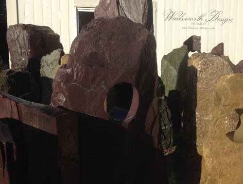 Plum Porthole monoliths