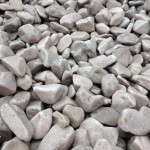 Cathedral Grey pebbles