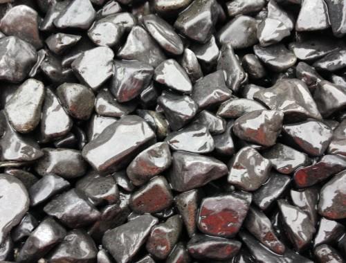 Ebony Black Pebbles