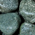 Green Granite cobbles
