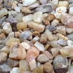 rose quartz aggregate