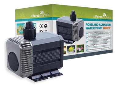 1400 pond pump wadsworth design for Pond pump design