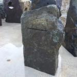 Green slate letterbox monoliths
