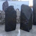 Rustic grey slate monolith