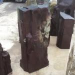 Plum slate standing stone