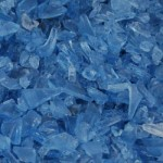 Blue Glass aggregate