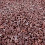 Red Granite driveway stone