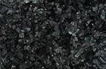 Black glass aggregate