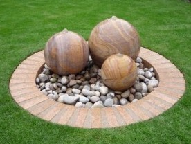 Stone spheres